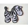 Hímzett Zebra