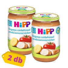 Hipp BIO burgonya csirkehússal paradicsommártásban, 8 hó+ (2x220 g) bébiétel