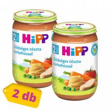 Hipp BIO zöldséges tészta csirkehússal, 12 hó+ (2x220 g) bébiétel