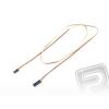 Hitec 4606 S hosszabbító kábel 90cm JR lapos, erős, aranyozott kapcsolatok