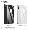 Hoco 3D hátsó üveg iPhone X - fekete