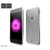 Hoco - Black series Fresh matt fémhatású keretes iPhone 6/6s tok - ezüst
