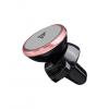 HOCO CA3 telefontartó autós, mágneses, szellőzőrácsra rögzíthető rozéarany színben