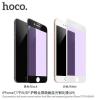 Hoco extra ellenálló edzett 3D üveg (Tempered Glass) Anti-Blue Ray réteggel Apple iPhone 7 Plus / 8 Plus - 0.33mm - fehér