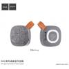 Hoco hordozható Bluetooth hangszóró textil felülettel Apple készülékekhez - szürke