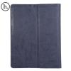 Hoco - In series antikolt bőr iPad Pro tablet tok - sötét szürke