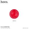 Hoco kerek tartó a hátsó oldalra Apple iPhone - piros