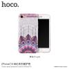 Hoco védőtok mandala mintával Apple iPhone 7 / 8 - lila