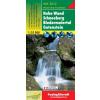 Hohe Wand-Schneeberg-Biedermeiertal-Gutenstein turistatérkép - f&b WK 5012