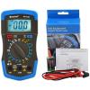 HoldPeak 33D Digitális multiméter, VDC, VAC, ADC, ellenállás, dióda, tranzisztor hFE teszt.