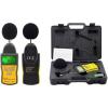 HoldPeak 882A Digitális zajszintmérő, 30-130dBA, 35-130dBC, számjegyes és bargraph megjelenítés.