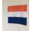 Holland megkötős zászló hajóra (20X30 cm)
