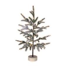 Home by Somogyi Home LED-es asztali dísz, havas fenyő (KMF 80) karácsonyi dekoráció