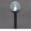 Home by Somogyi MX812 napelemes kerti lámpa, fém, üveggömb