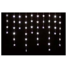 Home csillag LED-es fényfüggöny (hidegfehér, KAF 50L) karácsonyfa izzósor