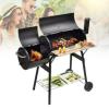 Hoppline 2in1 faszenes BBQ grill és smoker