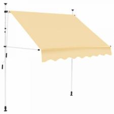 Hoppline Feltekerhető napellenző, bézs, 200x120 cm kerti bútor