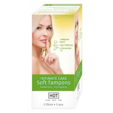 Hot HOT Intimate Care Soft - szextampon (5db) intimhigiénia nőknek