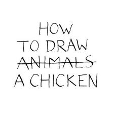 How to Draw a Chicken – Jean Vincent Senac idegen nyelvű könyv