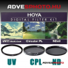 Hoya Digital Filter Kit UV,CPL,ND 40,5mm szűrőkkel