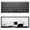 HP 677599-211 gyári új, ezüst háttérvilágított magyar laptop billentyűzet