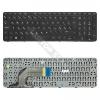 HP 758027-211 gyári új fekete, magyar laptop billentyűzet