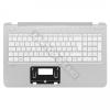 HP 762530-211 gyári új, fehér magyar laptop billentyűzet + ezüst felsőfedél