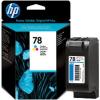 HP C6578DE Tintapatron DeskJet 916c, 920c, 940c nyomtatókhoz, HP 78 színes, 19ml
