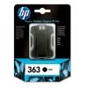 HP C8721EE Tintapatron Photosmart 3210, 3310, D7640 nyomtatókhoz, HP 363 fekete, 6ml
