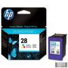 HP C8728AE Tintapatron DeskJet 3318, 3320, 3325 nyomtatókhoz, HP 28 színes, 8ml