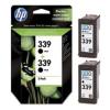 HP C9504AE Tintapatron DeskJet 5740, 6540 nyomtatókhoz, HP 339 fekete, 2*21ml