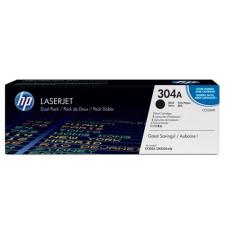 HP CC530AD Lézertoner ColorLaserJet CM2320fxi, 2320n nyomtatókhoz, HP 304A fekete, 2*3,5k nyomtatópatron & toner
