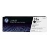 HP CF283A Lézertoner LaserJet Pro M125, M126, M127, M128 nyomtatókhoz, HP fekete, 2*1,5k