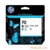 HP HP C9404A P.head Matt Bk/Cy No.70 (Eredeti)