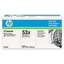 HP Q7553xD nyomtatópatron & toner