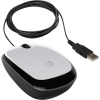 HP X1200 USB optikai egér (Pike Silver) fehér-fekete
