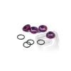 HPI Állítható lengéscsillapító anyacsavar, lila (4db)
