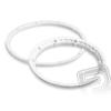HPI Gumi rögzítő gyűrű, fehér 2db