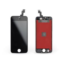 HQ LCD kijelző érintőpanellel - Apple iPhone 5S - HQ AAA kiváló minőségű, utángyártott - fekete mobiltelefon kellék