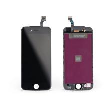 HQ LCD kijelző érintőpanellel - Apple iPhone 6 4.7&quot, - HQ AAA kiváló minőségű, utángyártott - fekete mobiltelefon kellék