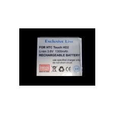 HTC BA S400 kompatibilis utángyártott akkumulátor (1300mAh, Li-ion, Touch HD2)* mobiltelefon akkumulátor