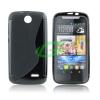 HTC Desire 310 fekete szilikon tok