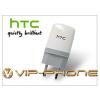 HTC gyári USB hálózati töltő adapter - 5V/1A - TC E250 white (csomagolás nélküli)