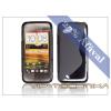 HTC HTC Desire VC szilikon hátlap - S-Line - fekete