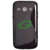 HTC One Mini M4 fekete szilikon tok