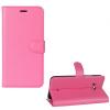 HTC U11, Oldalra nyíló tok, stand, rózsaszín