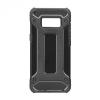 Huawei Honor 7X, Műanyag hátlap védőtok, Defender, fémhatású, fekete