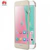 Huawei Honor 8 Pro / Honor V9, Oldalra nyíló tok, hívás mutatóval, arany, gyári, 51991953