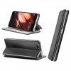 Huawei Mate 10 Lite, Oldalra nyíló tok, stand, Forcell Elegance, fekete