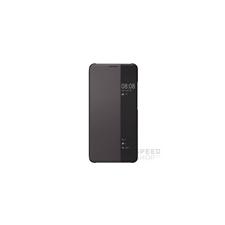 Huawei Mate 10 Pro gyári S-View flip tok, barna tok és táska